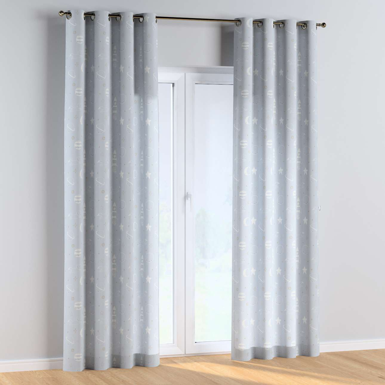 Eyelet curtains in collection Magic Collection, fabric: 500-16