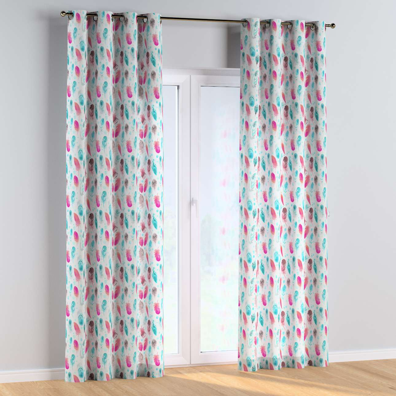 Eyelet curtains in collection Magic Collection, fabric: 500-17