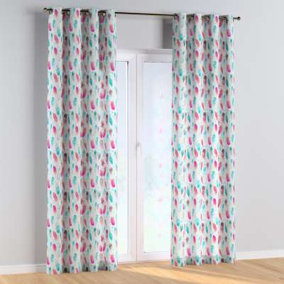 Eyelet curtains 500-17  Collection Magic Collection