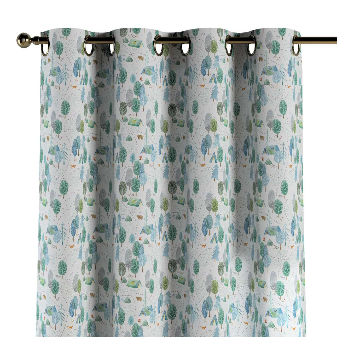 Eyelet curtains in collection Magic Collection, fabric: 500-21