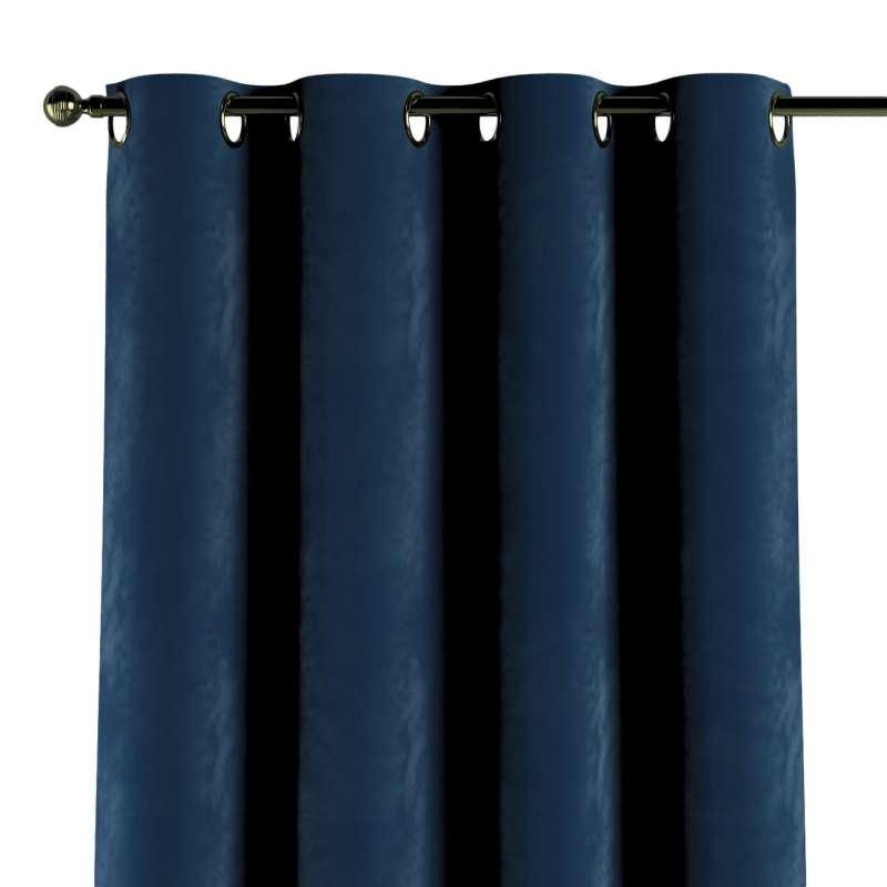 Gardin med øskner 1 stk. fra kollektionen Velvet, Stof: 704-29