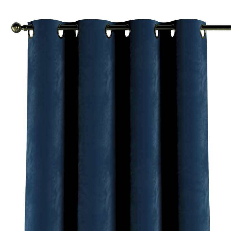 Zasłona na kółkach 1 szt. w kolekcji Velvet, tkanina: 704-29