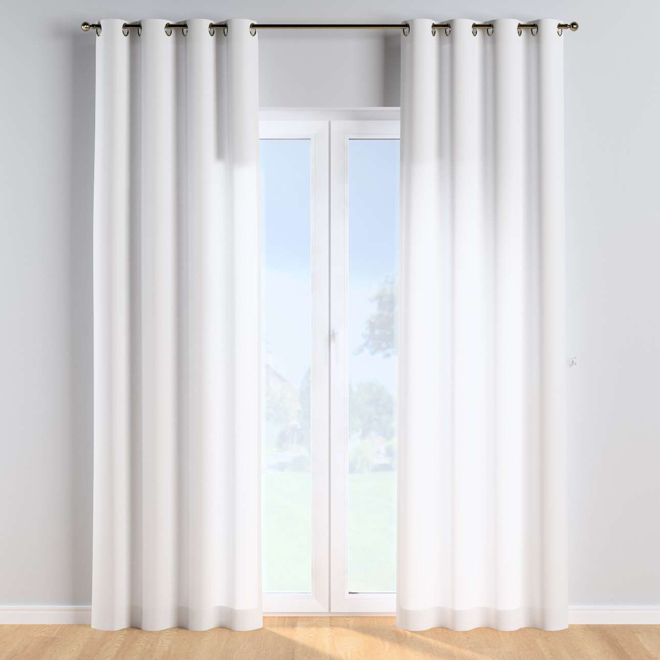 Eyelet curtains in collection Happiness, fabric: 133-02