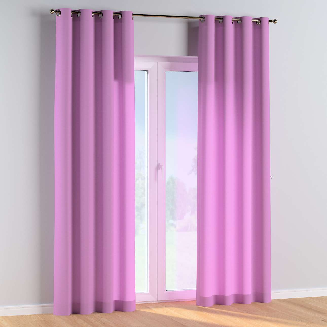 Eyelet curtains in collection Happiness, fabric: 133-38