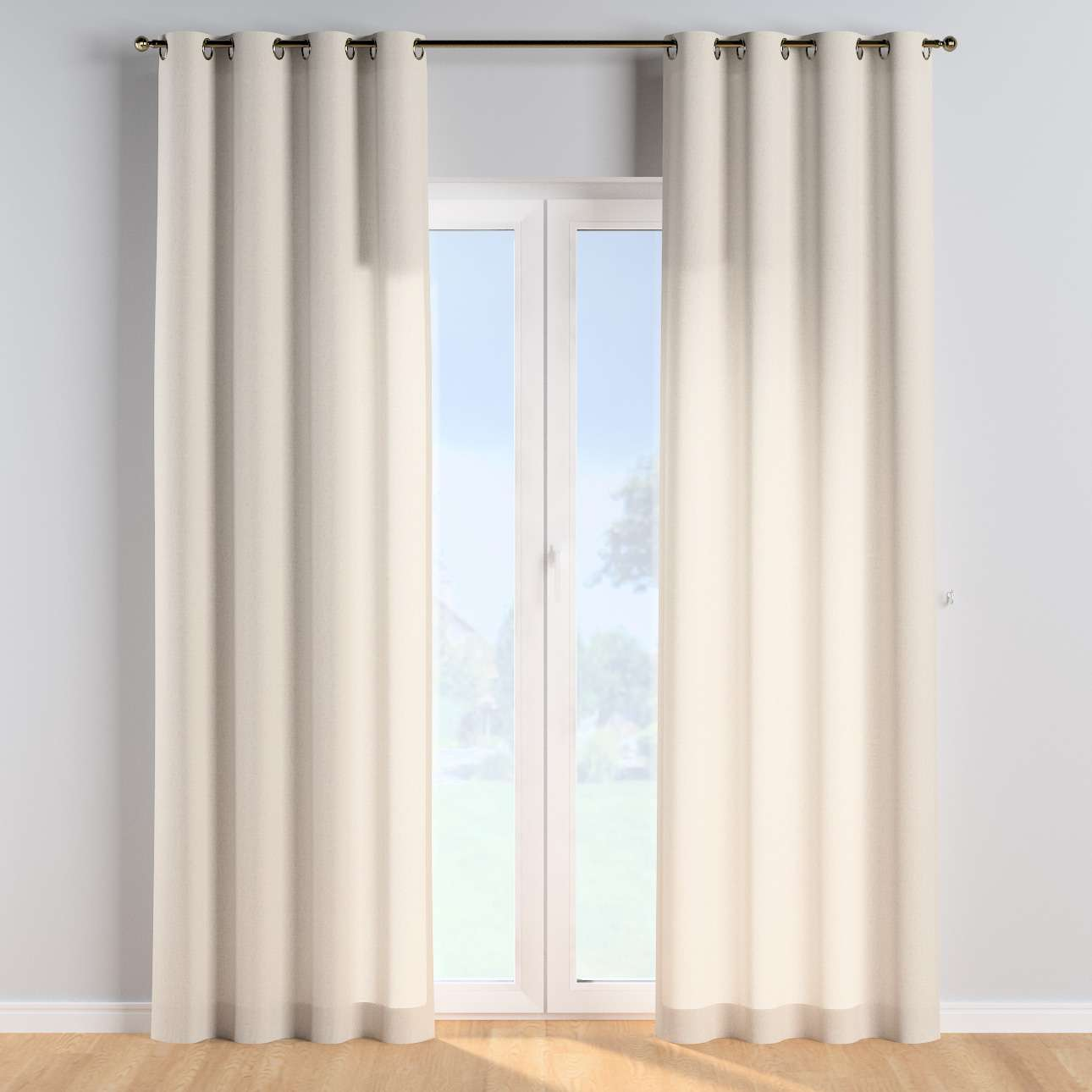 Eyelet curtains in collection Happiness, fabric: 133-65