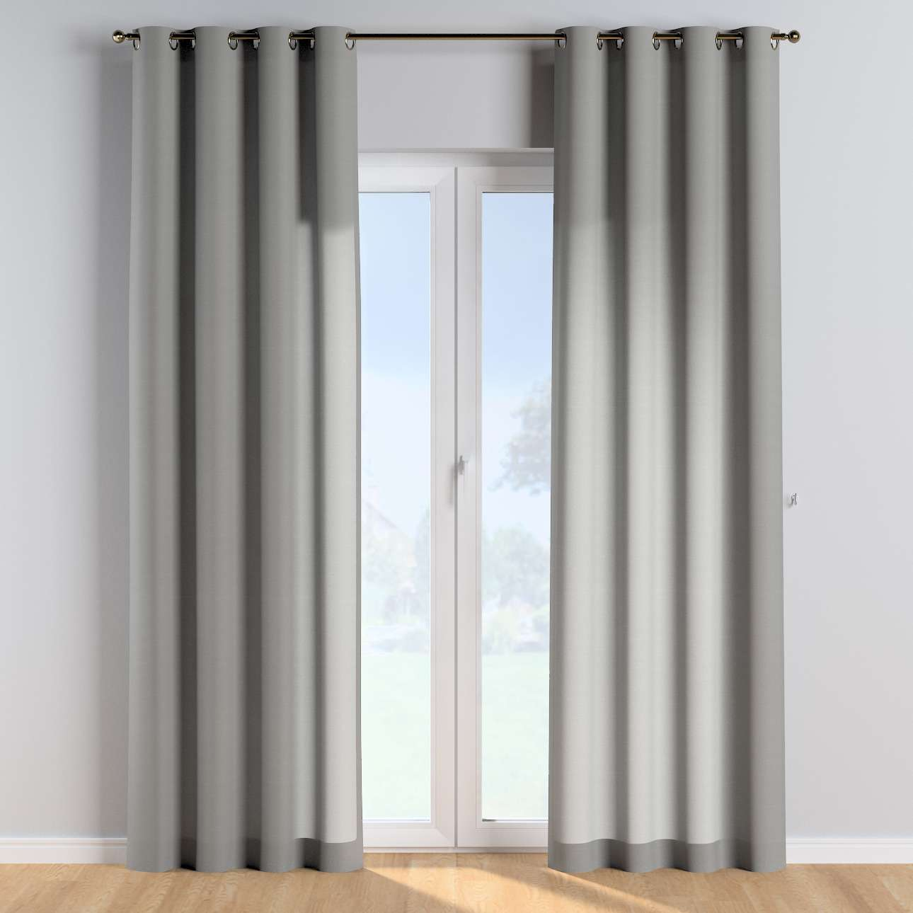 Eyelet curtains in collection Happiness, fabric: 133-24