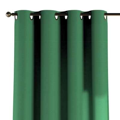 Žiedinio klostavimo užuolaidos 1 vnt. 133-18 tamsiai žalia Kolekcija Happiness