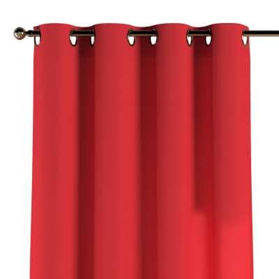 Žiedinio klostavimo užuolaidos 1 vnt. 133-43 raudona Kolekcija Happiness