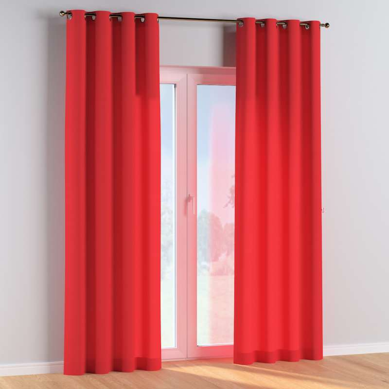 Eyelet curtains in collection Happiness, fabric: 133-43