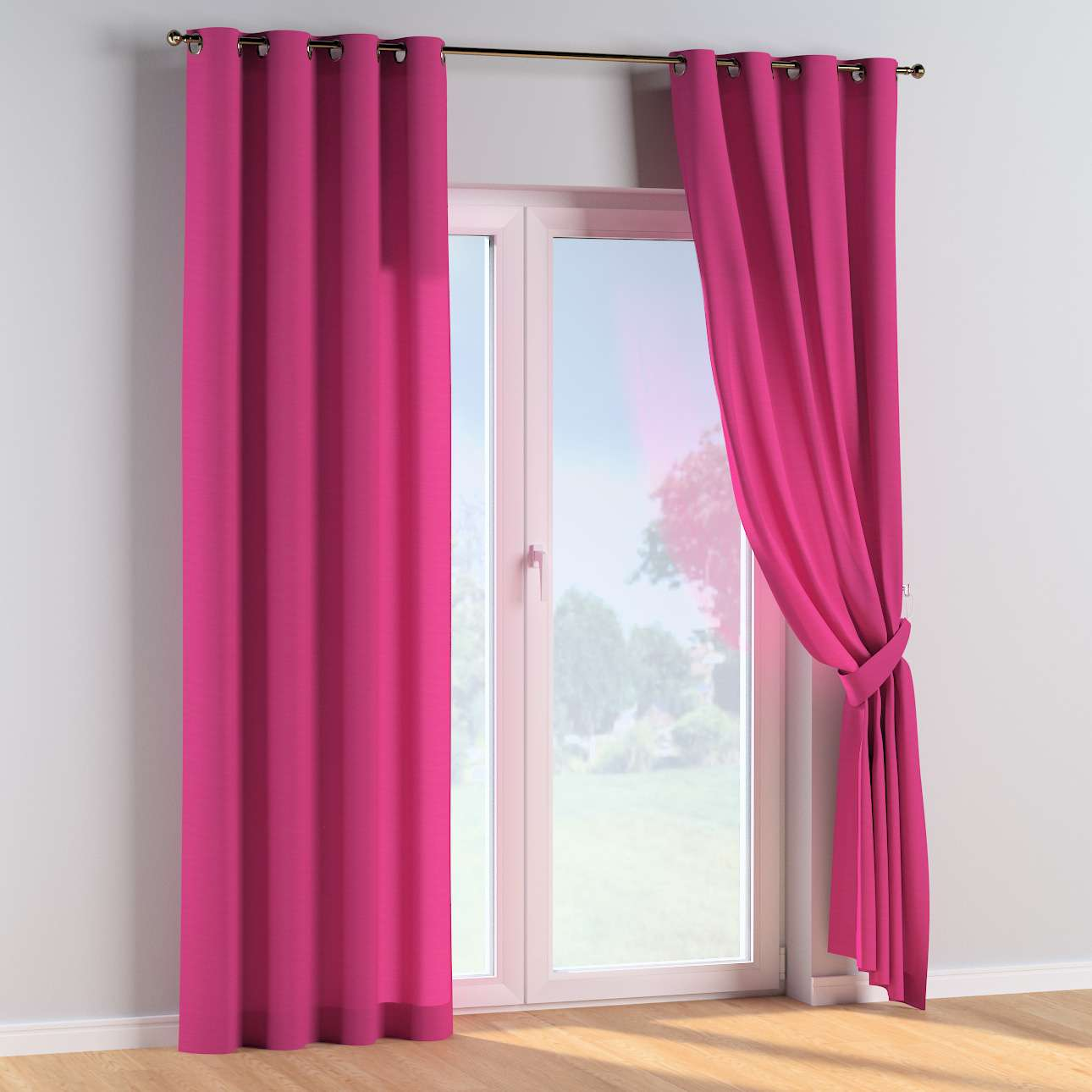 Eyelet curtains in collection Happiness, fabric: 133-60