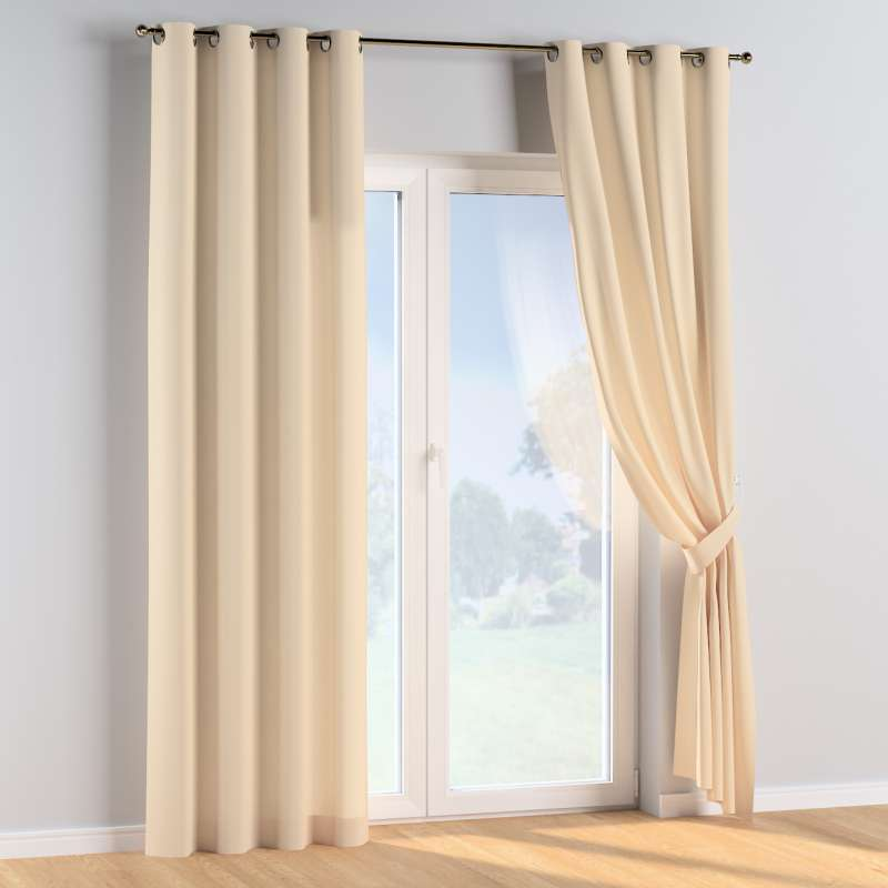 Eyelet curtains in collection Cotton Story, fabric: 702-29