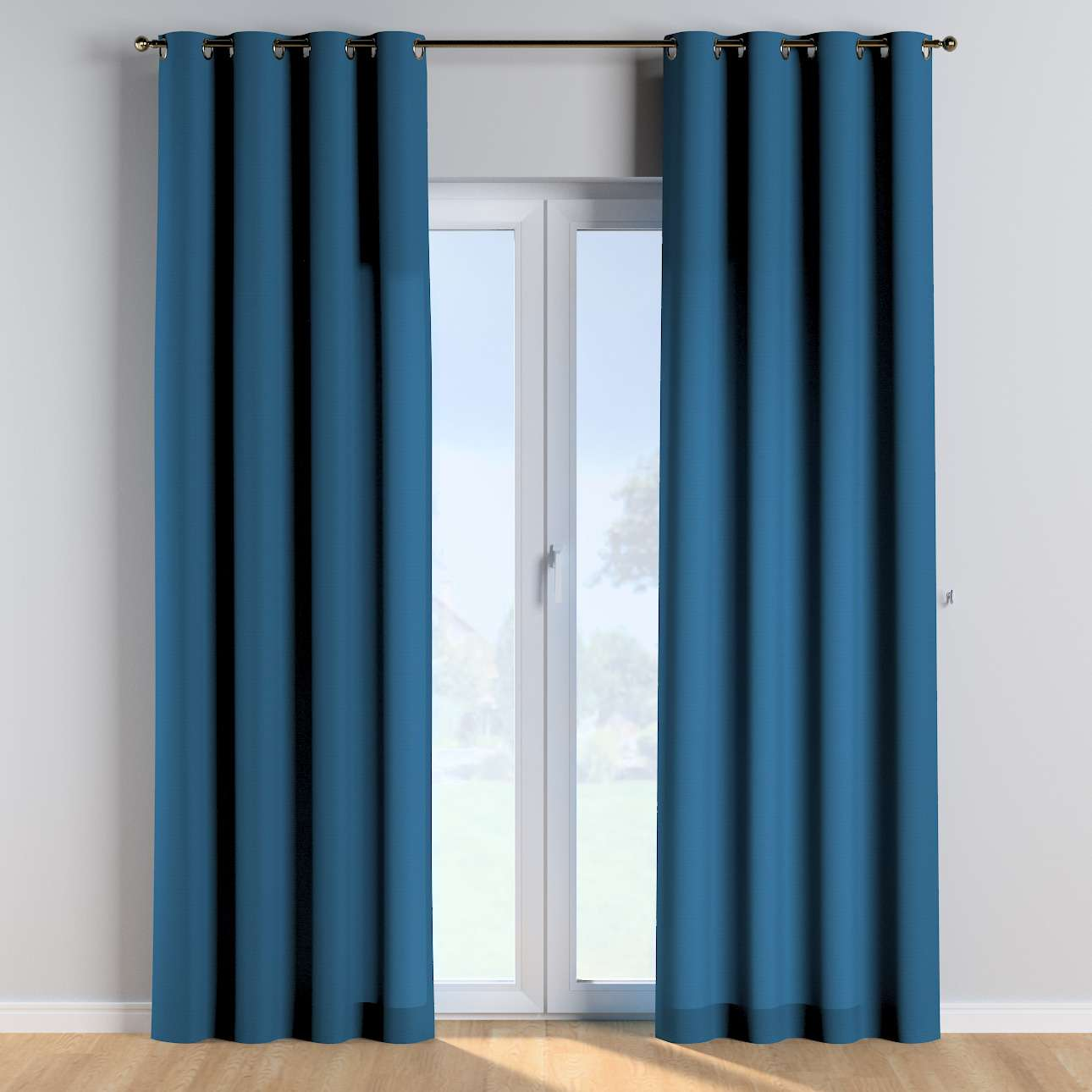 Eyelet curtains in collection Cotton Story, fabric: 702-30