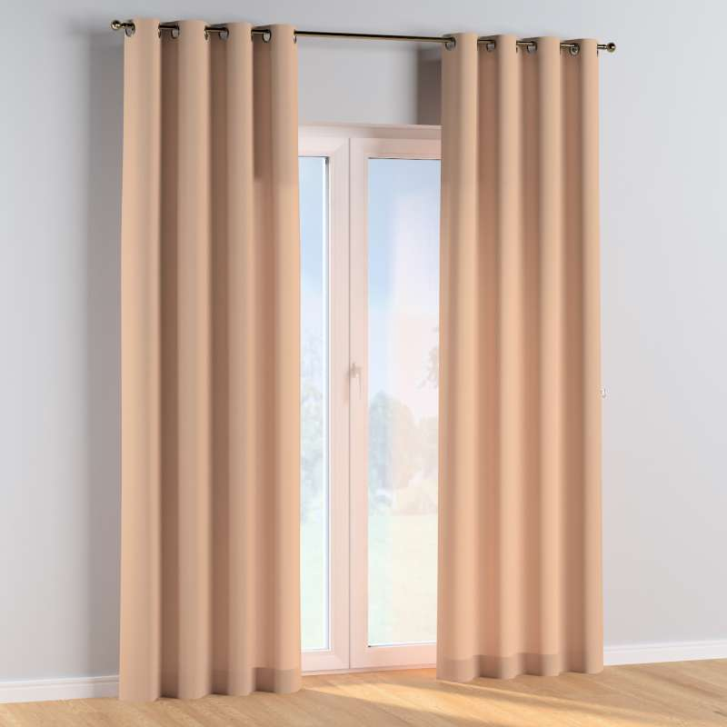 Eyelet curtains in collection Cotton Story, fabric: 702-01