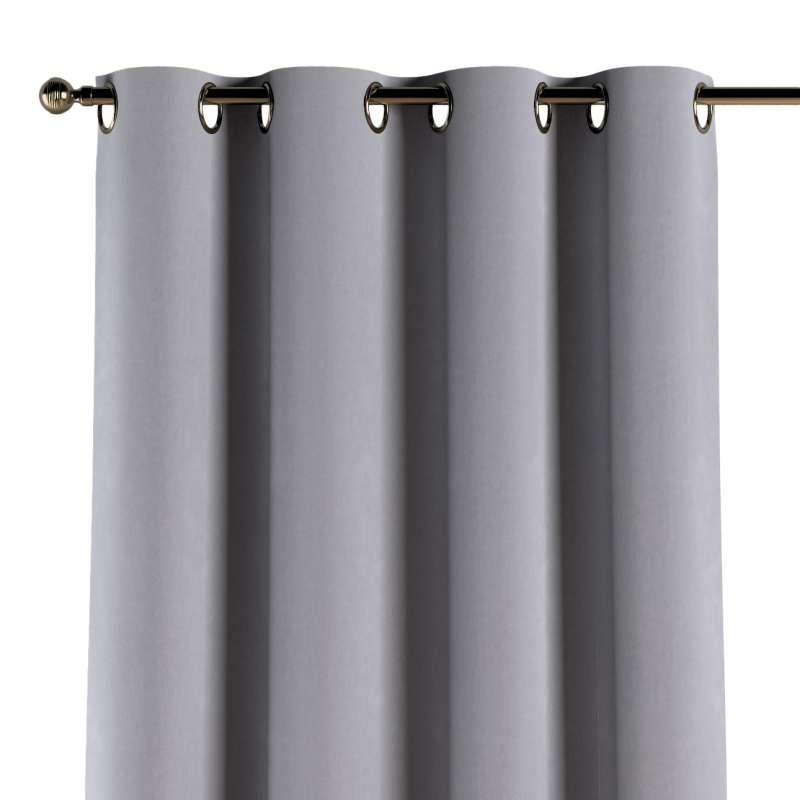Žiedinio klostavimo užuolaidos 1 vnt. kolekcijoje Posh Velvet, audinys: 704-24