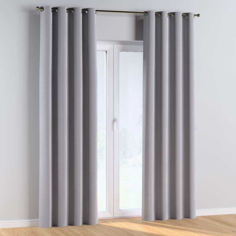 Eyelet curtains in collection Posh Velvet, fabric: 704-24