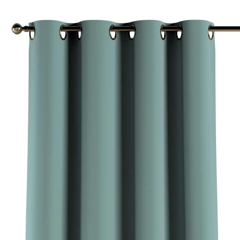 Žiedinio klostavimo užuolaidos 1 vnt. kolekcijoje Posh Velvet, audinys: 704-18