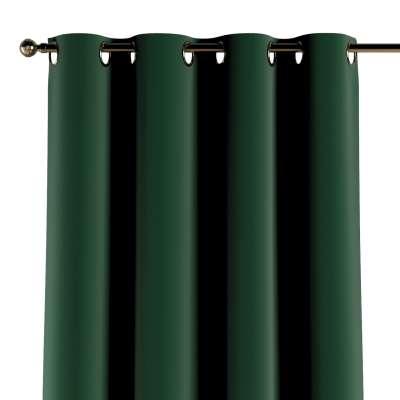 Závěs s průchodkami 1 ks 704-13 láhev zelená Kolekce Posh Velvet