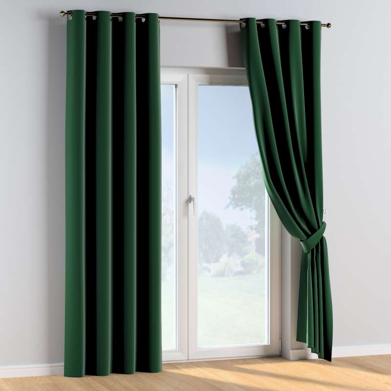 Eyelet curtains in collection Posh Velvet, fabric: 704-13