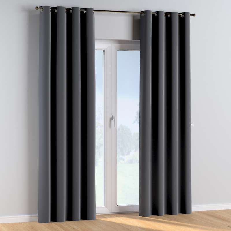 Eyelet curtains in collection Posh Velvet, fabric: 704-12