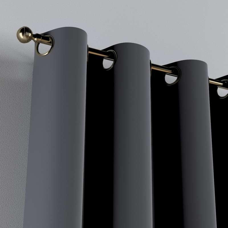 Žiedinio klostavimo užuolaidos 1 vnt. kolekcijoje Posh Velvet, audinys: 704-12