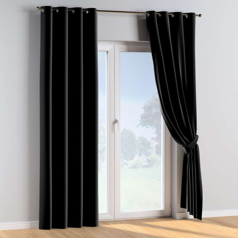 Eyelet curtains in collection Posh Velvet, fabric: 704-17