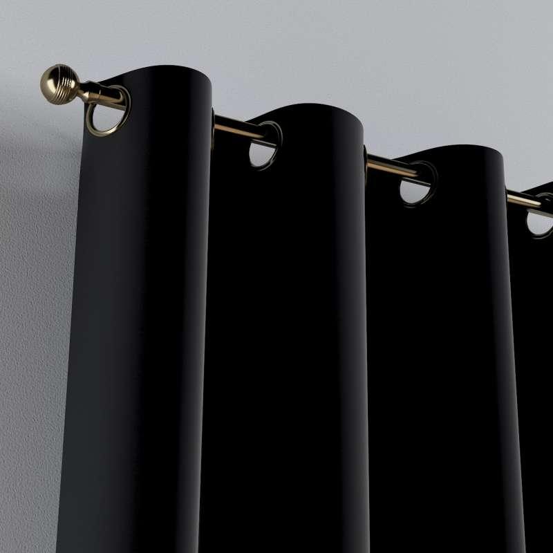 Žiedinio klostavimo užuolaidos 1 vnt. kolekcijoje Posh Velvet, audinys: 704-17