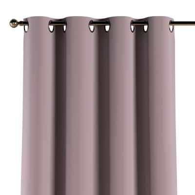 Žiedinio klostavimo užuolaidos 1 vnt. 704-14 rožinė prigesinta Kolekcija Posh Velvet