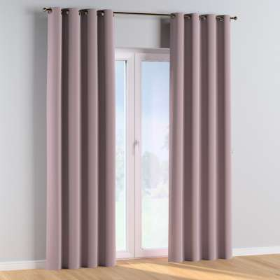 Eyelet curtains 704-14 dusty pink Collection Posh Velvet