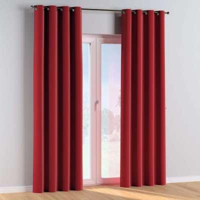 Žiedinio klostavimo užuolaidos 1 vnt. 704-15 raudona Kolekcija Posh Velvet