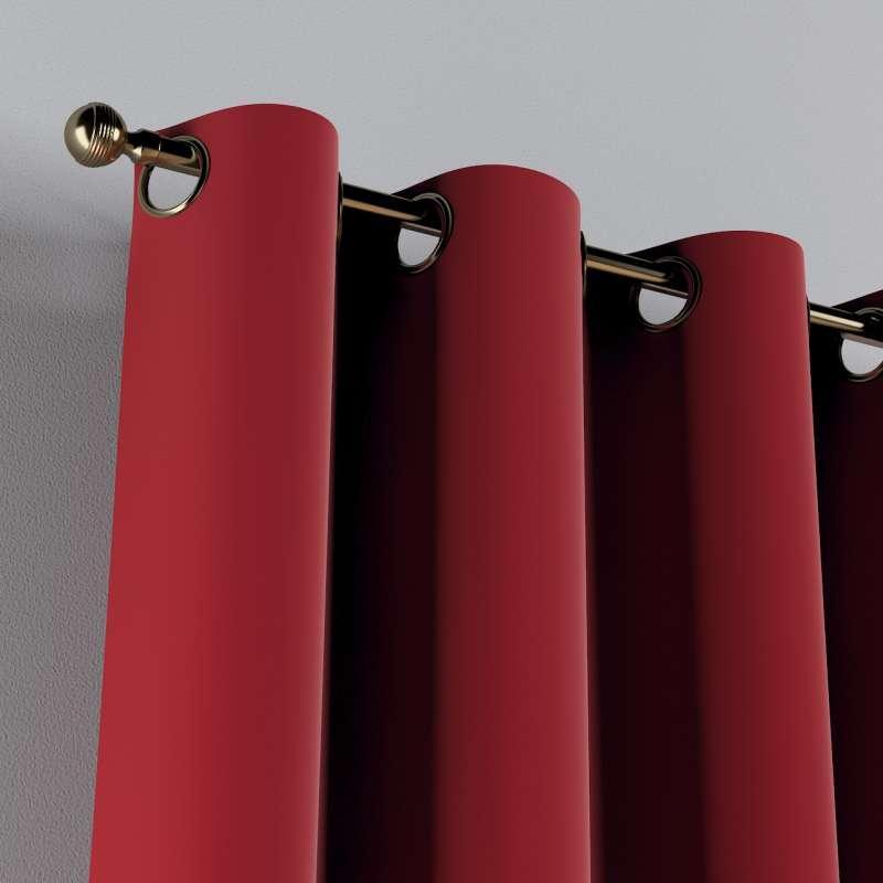 Žiedinio klostavimo užuolaidos 1 vnt. kolekcijoje Posh Velvet, audinys: 704-15
