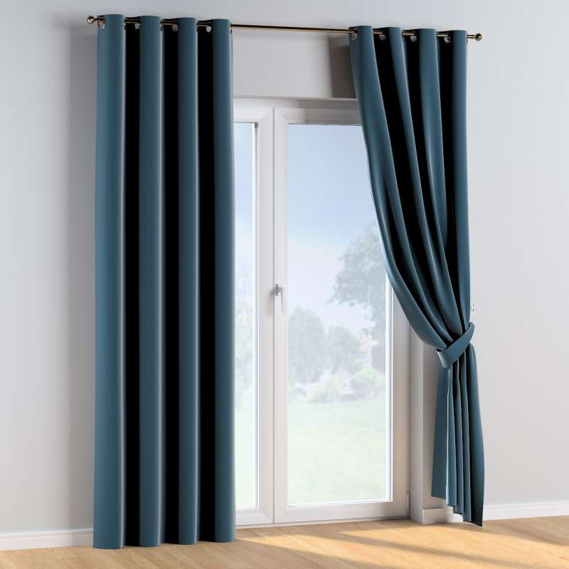 Eyelet curtains in collection Posh Velvet, fabric: 704-16