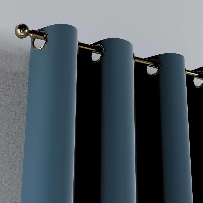 Žiedinio klostavimo užuolaidos 1 vnt. kolekcijoje Posh Velvet, audinys: 704-16