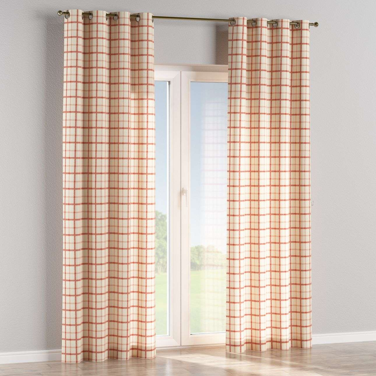 Eyelet curtains 130 × 260 cm (51 × 102 inch) in collection Avinon, fabric: 131-15