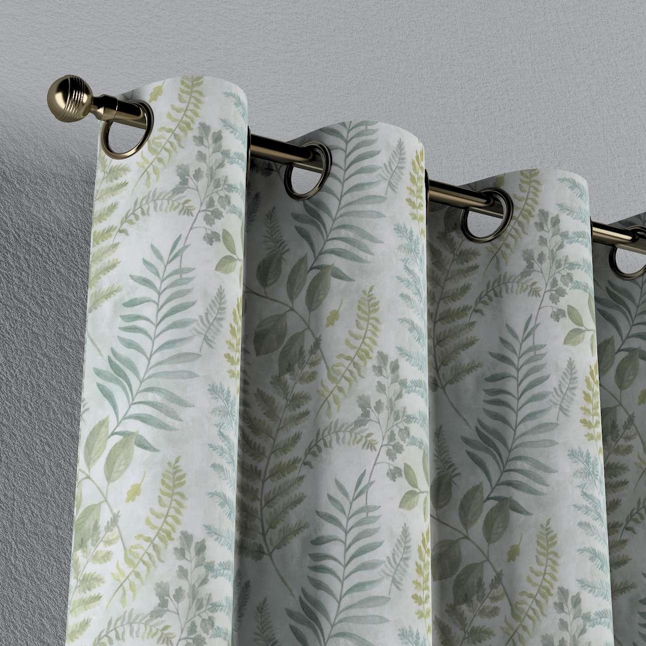 Zasłona na kółkach 1 szt. w kolekcji Pastel Forest, tkanina: 142-46