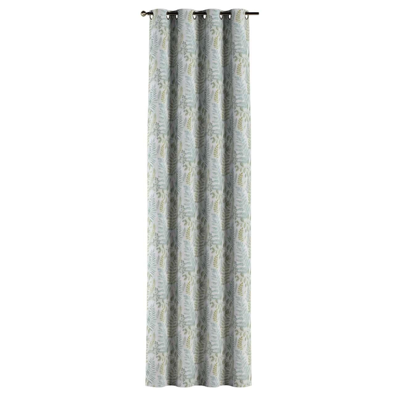 Gardin med øskner 1 stk. fra kollektionen Pastel Forest, Stof: 142-46