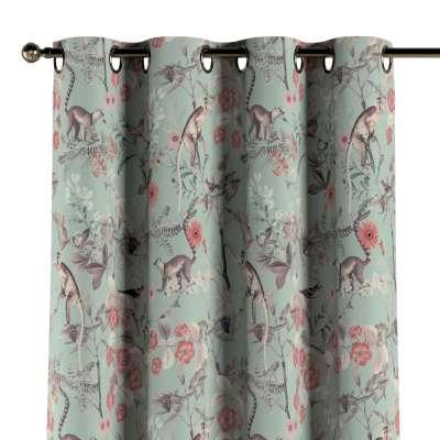 Záves s kolieskami V kolekcii Tropical Island, tkanina: 142-62