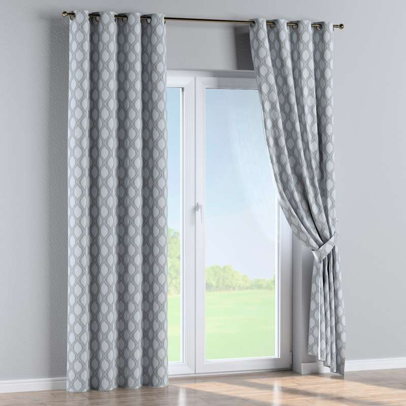 Eyelet curtain in collection Damasco, fabric: 142-54