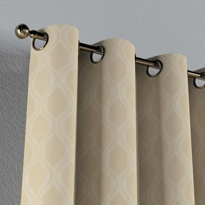 Eyelet curtain in collection Damasco, fabric: 142-53