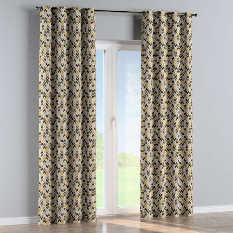 Eyelet curtain in collection Modern, fabric: 142-79