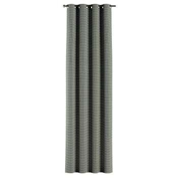 Gardin med maljer 1 stk. fra kolleksjonen Black & White, Stoffets bredde: 142-77