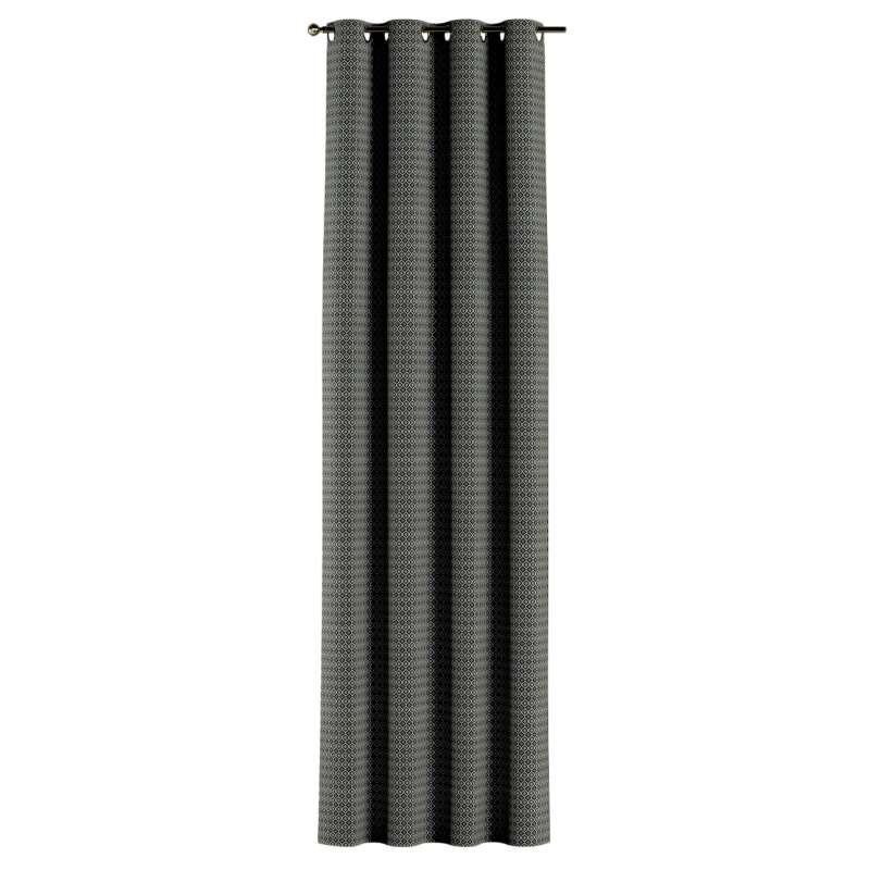 Ösenschal von der Kollektion Black & White, Stoff: 142-86