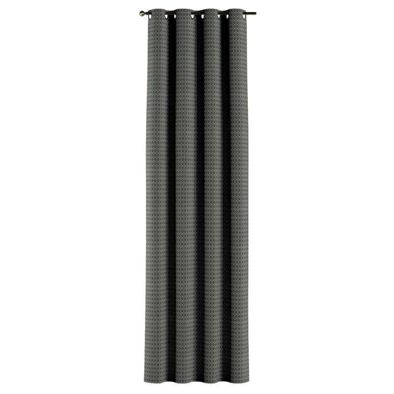 Užuolaidos žiedinio klostavimo 1vnt. kolekcijoje Black & White, audinys: 142-86