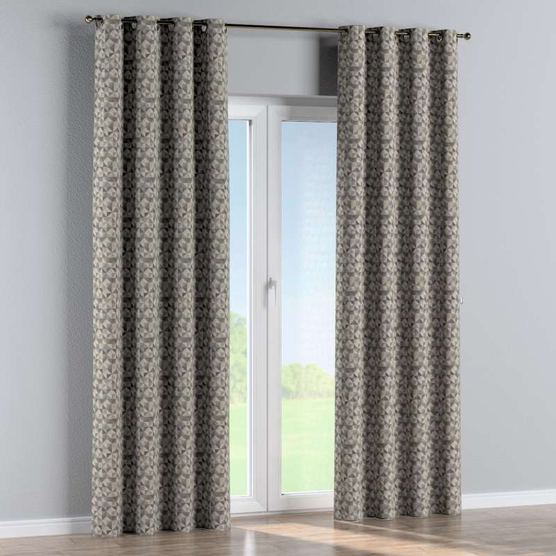 Eyelet curtain in collection Retro Glam, fabric: 142-84