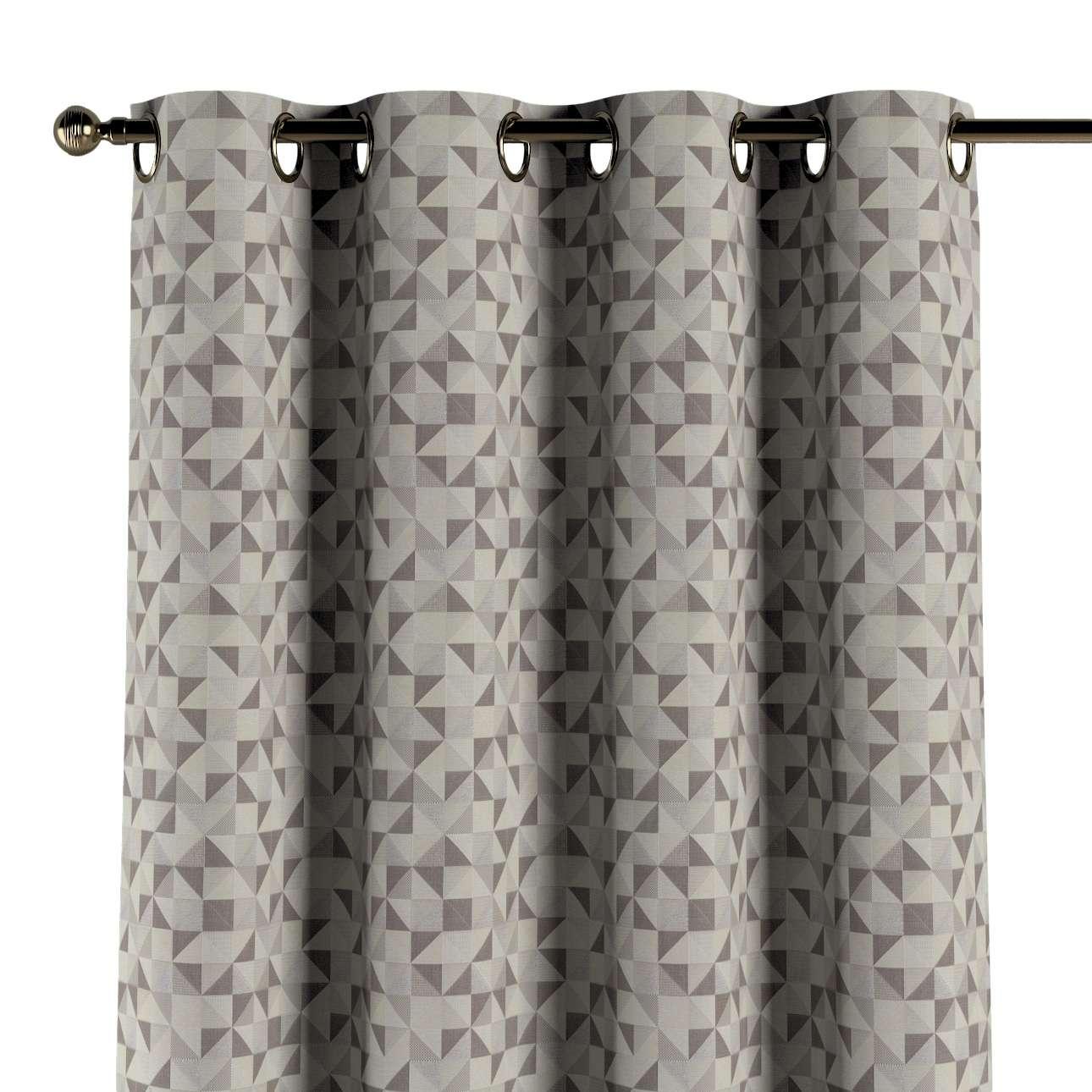 Gardin med maljer 1 stk. fra kolleksjonen Retro Glam, Stoffets bredde: 142-85