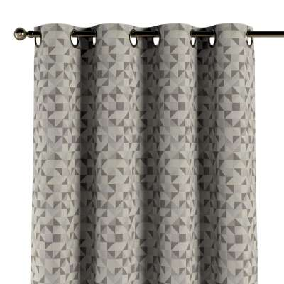 Eyelet curtains in collection Retro Glam, fabric: 142-85