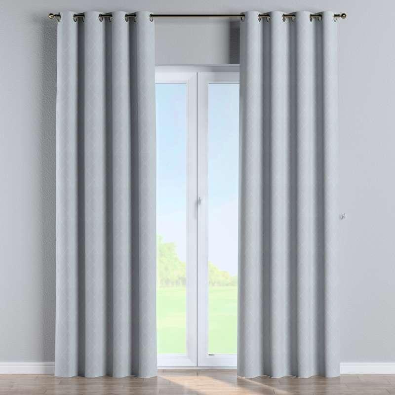 Gardin med öljetter 1 längd i kollektionen Venice, Tyg: 142-57