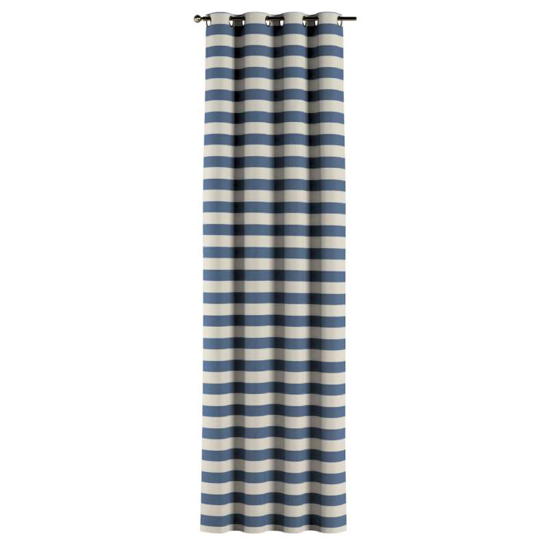 Eyelet curtain in collection Quadro, fabric: 142-70