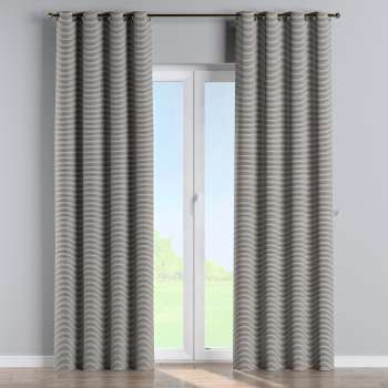 Eyelet curtains in collection Quadro, fabric: 142-75
