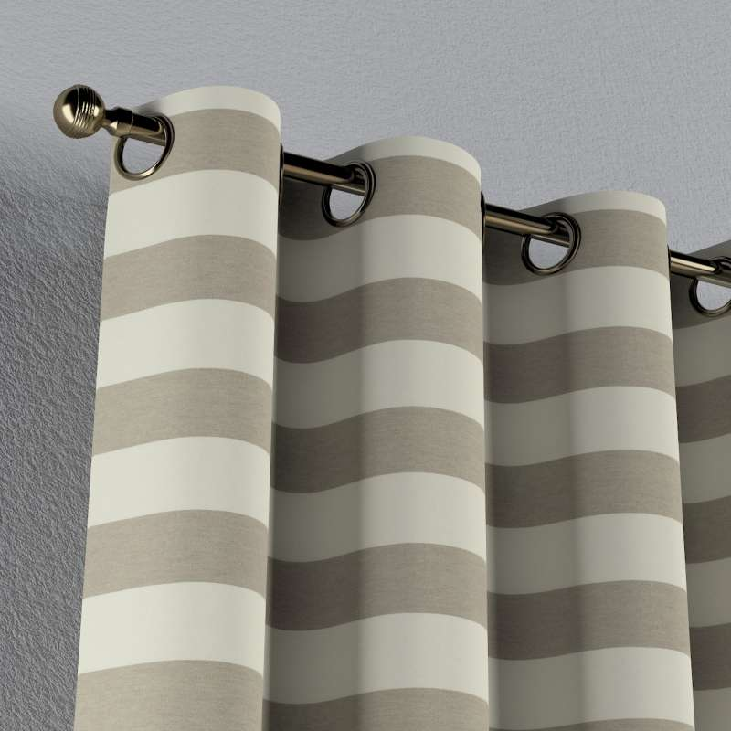 Eyelet curtain in collection Quadro, fabric: 142-73