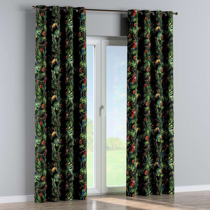 Eyelet curtain in collection Velvet, fabric: 704-28